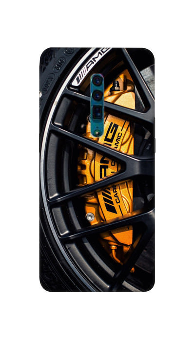 Car wheel Hard Case For Oppo Reno
