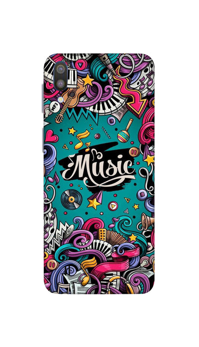 Music passion Hard Case For Samsung M10