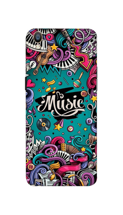 Music passion Hard Case For Oppo F1 Plus