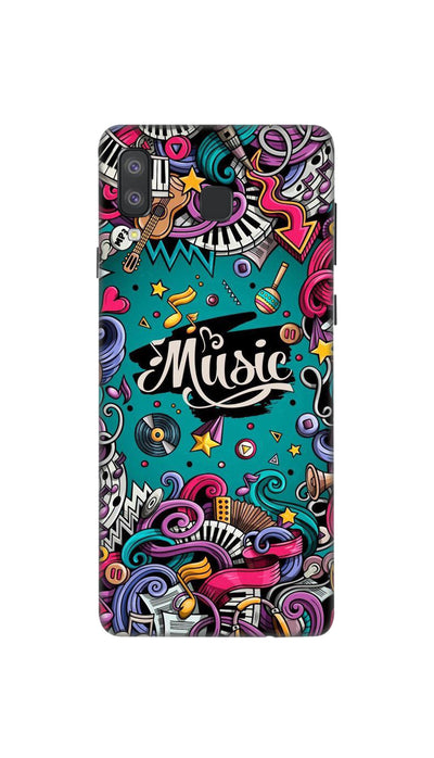 Music passion Hard Case For Samsung A8 Star