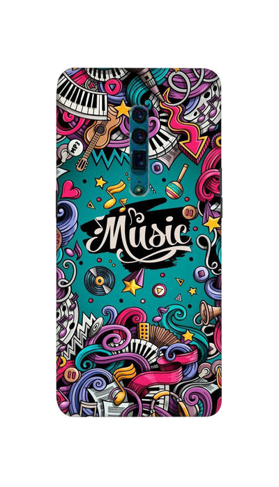 Music passion Hard Case For Oppo Reno