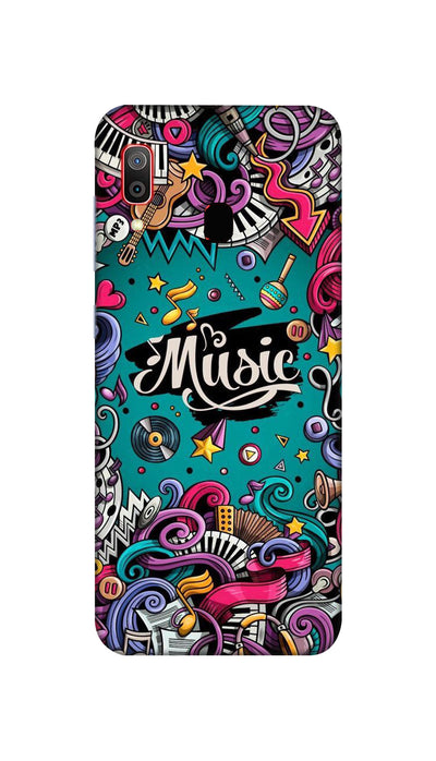 Music passion Hard Case For Samsung M20
