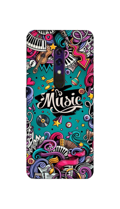 Music passion Hard Case For Oppo K3