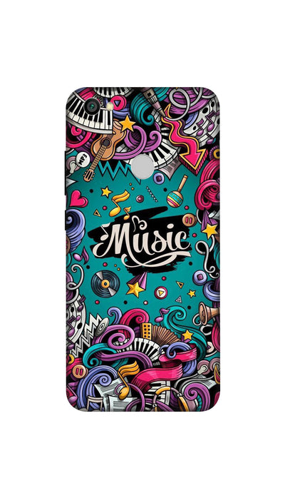Music passion Hard Case For Redmi Y1
