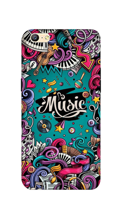Music passion Hard Case For Oppo A57