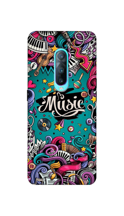 Music passion Hard Case For Oppo R17 Pro