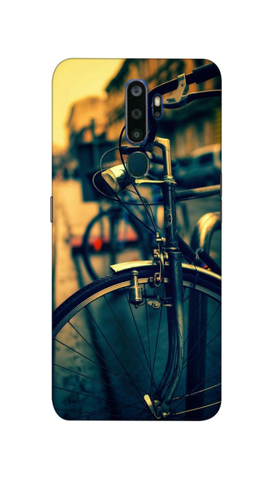 Cycle ride Hard Case For Oppo A9-2020