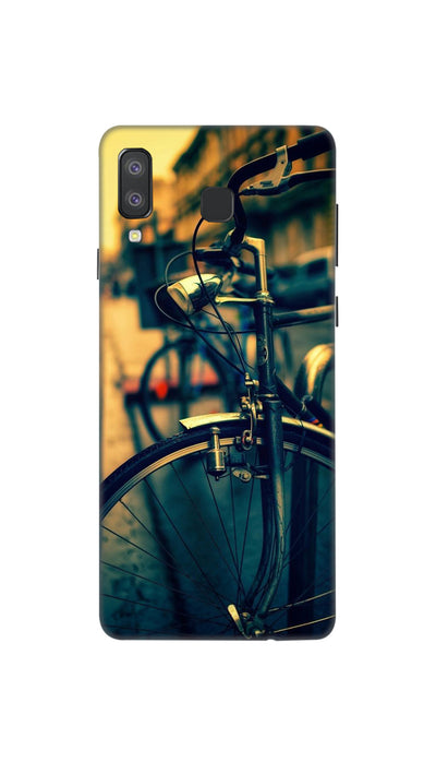 Cycle ride Hard Case For Samsung A8 Star