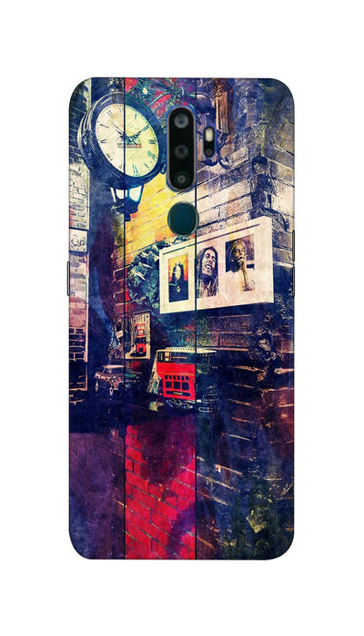 Bob Marley Hard Case For Oppo A9-2020