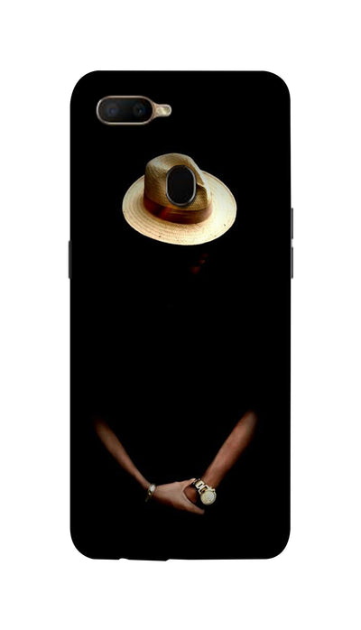 Mysterious man Hard Case For Oppo A5S