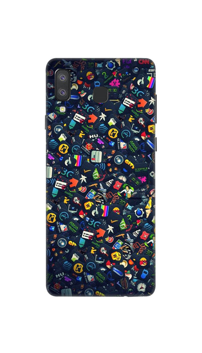 Phone world Hard Case For Samsung A8 Star