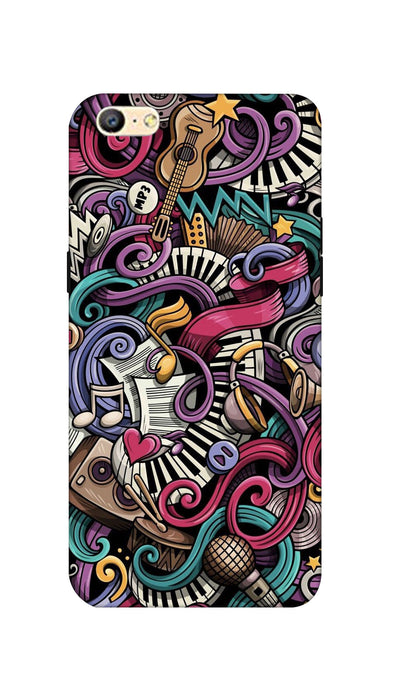 Music star Hard Case For Oppo A57