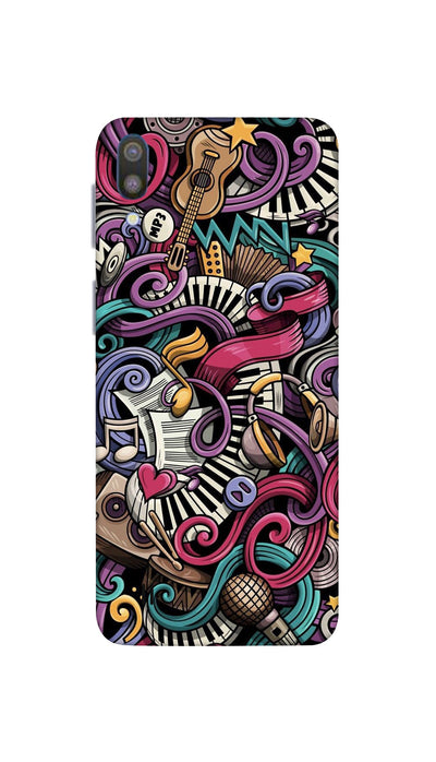 Music star Hard Case For Samsung M10