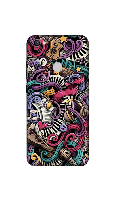 Music star Hard Case For Redmi Y1