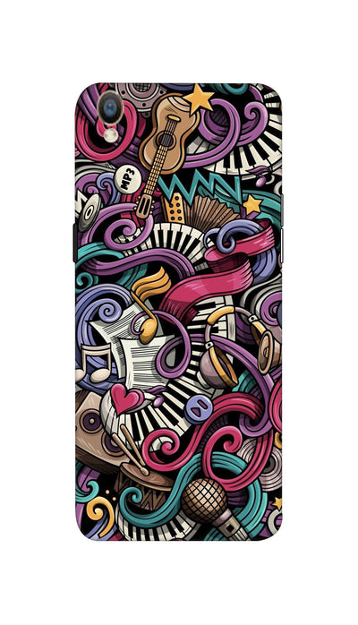Music star Hard Case For Oppo F1 Plus