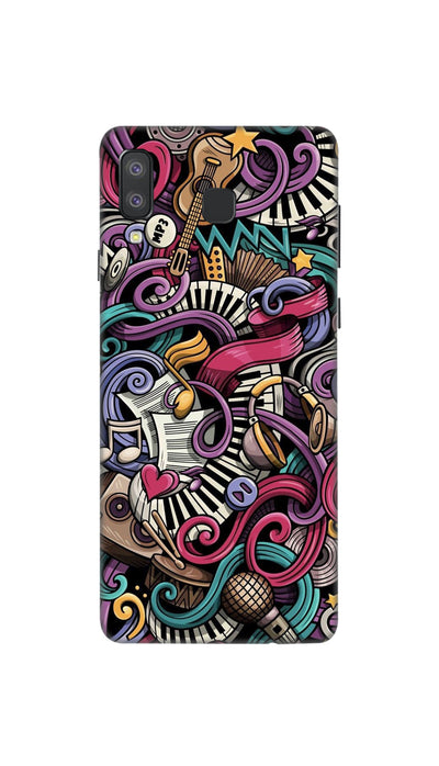 Music star Hard Case For Samsung A8 Star