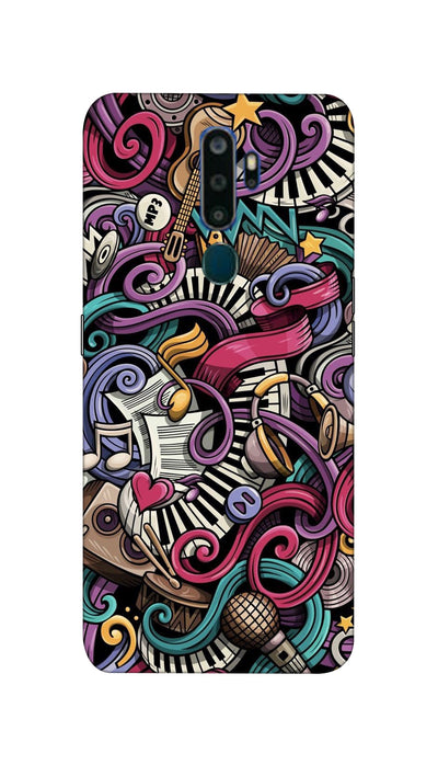 Music star Hard Case For Oppo A9-2020
