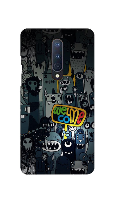 Horror Welcome Hard Case For OnePlus 8