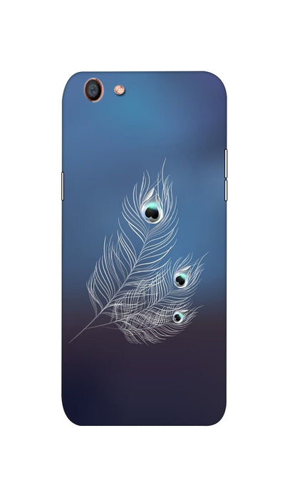 Peacock feather Hard Case For Oppo F3