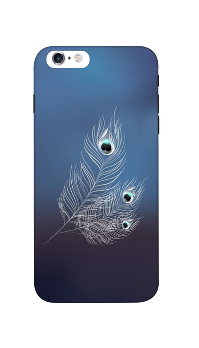 Peacock feather Hard Case For iPhone 6S Plus