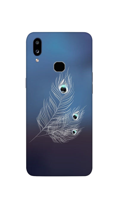 Peacock feather Hard Case For Samsung A10S