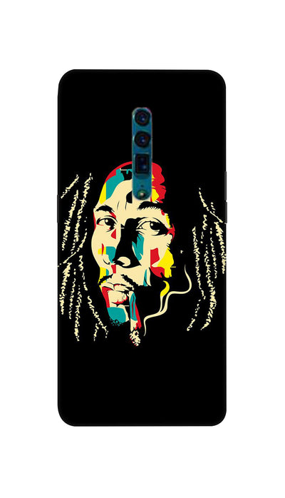 Bob  Marley fan Hard Case For Oppo Reno