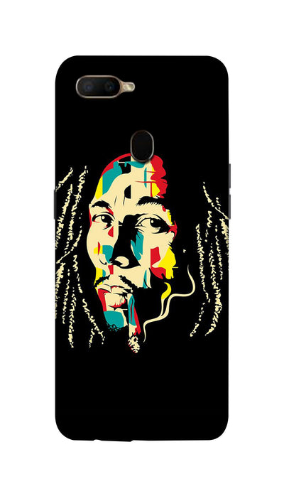 Bob  Marley fan Hard Case For Oppo A5S