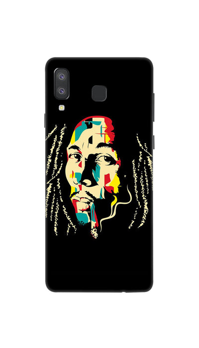 Bob  Marley fan Hard Case For Samsung A8 Star