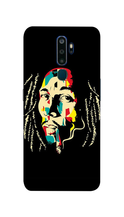 Bob  Marley fan Hard Case For Oppo A5-2020