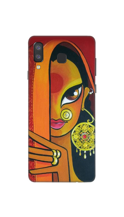 Artisitic painting Hard Case For Samsung A8 Star