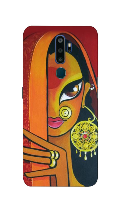 Artisitic painting Hard Case For Oppo A9-2020