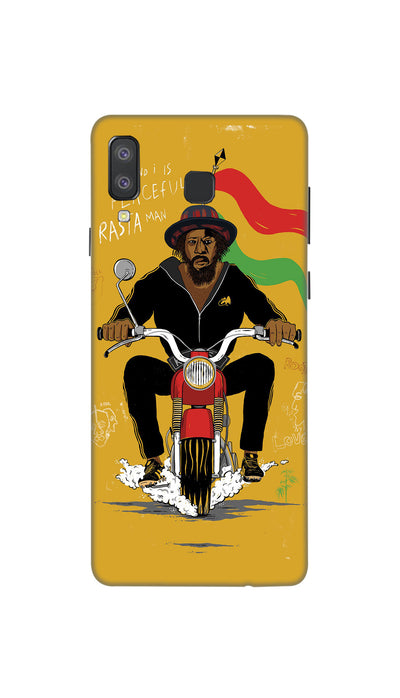 Bike ride Hard Case For Samsung A8 Star