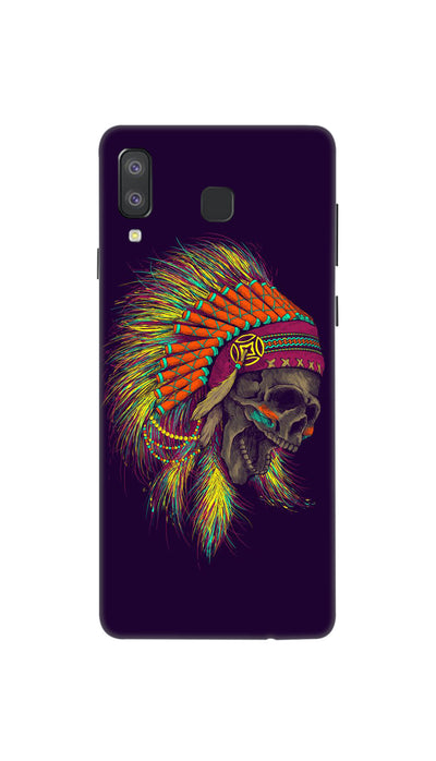 skull screaming Hard Case For Samsung A8 Star