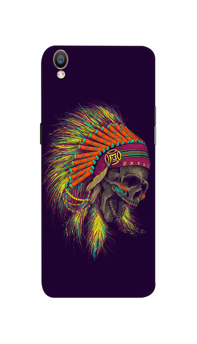 Skull screaming Hard Case For Oppo F1 Plus