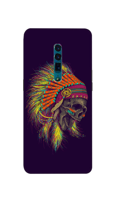 skull screaming Hard Case For Oppo Reno
