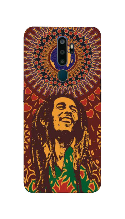 Bob Marley love Hard Case For Oppo A9-2020