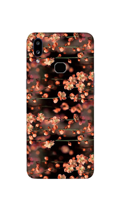 Mini flowers Hard Case For Samsung A10S