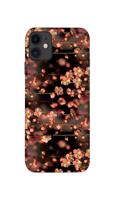 Mini flowers Hard Case For iPhone 11