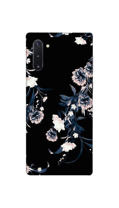 Printed  flowers design Hard Case For Samsung Note 10