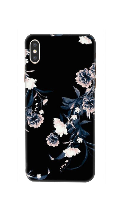 Printed  flowers design Hard Case For iPhone XS