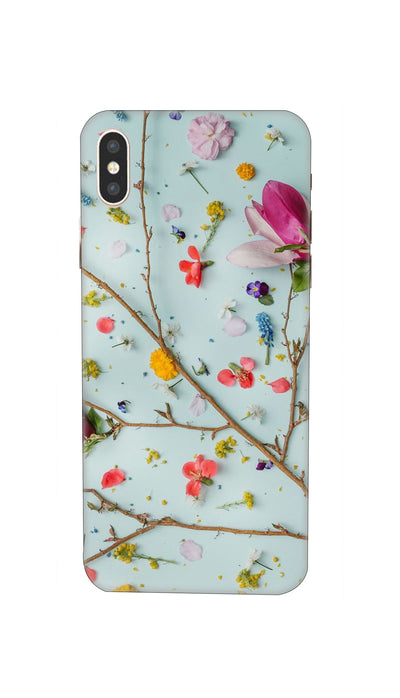 Flowers Hard Case For iPhone XS