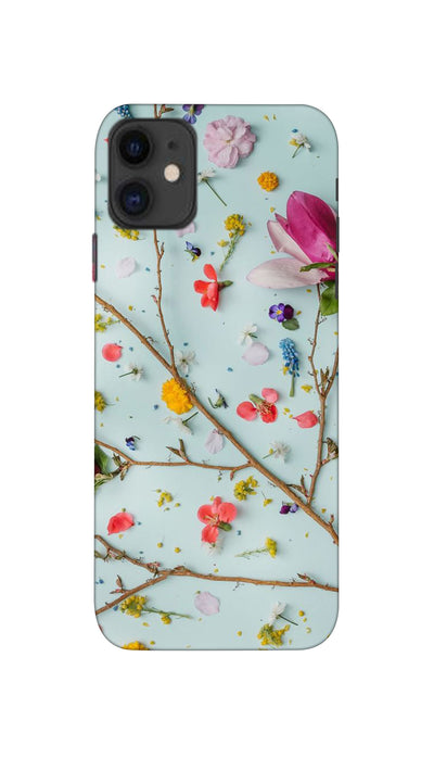 Flowers Hard Case For iPhone 11
