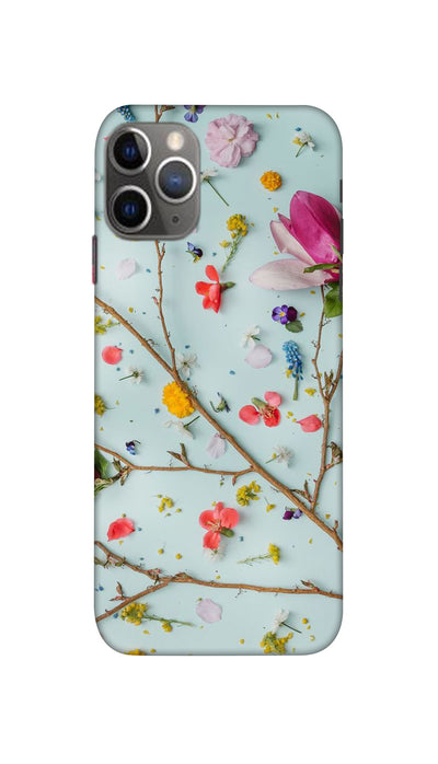 Flowers Hard Case For iPhone 11 Pro