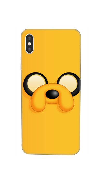 Yellow yellow dirty fellow Hard Case For iPhone XS