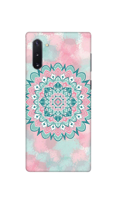 Colourful rangoli pattern Hard Case For Samsung Note 10