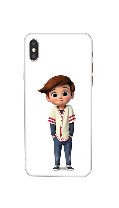 Cool boy Hard Case For iPhone XS