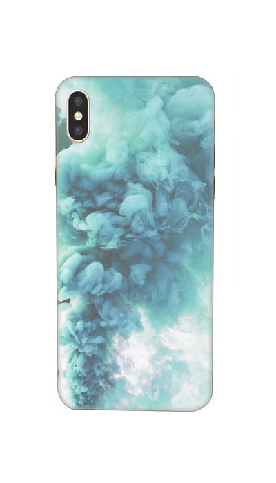 Blue Smoke Hard Case For iPhone XS