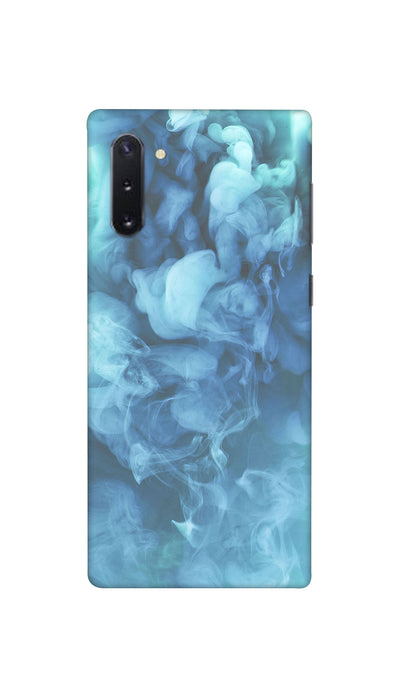 Blue Smoke Pattern Hard Case For Samsung Note 10