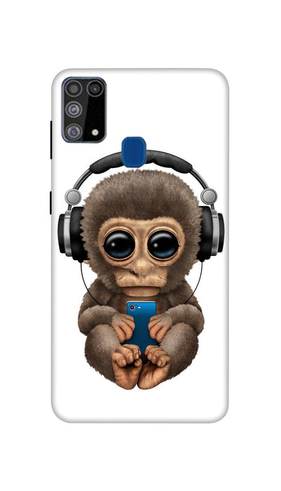 Music lover Monkey Hard Case For Samsung M31