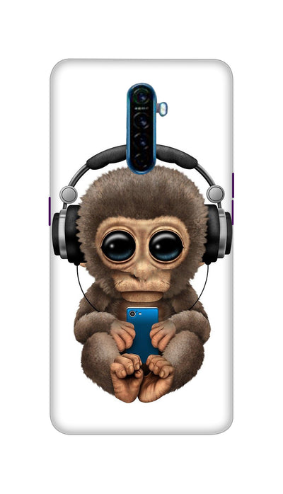 Music lover Monkey Hard Case For Oppo Reno Ace
